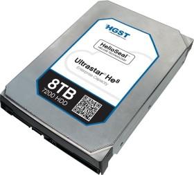 HGST Ultrastar He8 8TB, 512e ISE, SAS 12Gb/s (HUH728080AL5200 / 0F23268)
