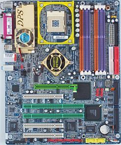 Gigabyte GA-8KNXP Ultra-64, i875P (dual PC-3200 DDR)