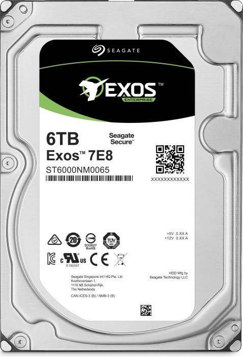 Seagate Exos E 7E8 6TB, 4Kn, SAS 12Gb/s (ST6000NM0105)