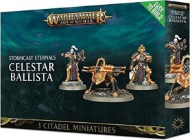 Games Workshop Warhammer Age of Sigmar - Stormcast Eternals - Easy to Build Celestar Ballista (99120218036)