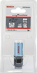 Bosch Sheet Metal hole saw 19mm, 1-pack (2608584780)