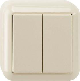 Merten Aufputz Serienschalter 1-polig, weiß (MEG3115-8744)