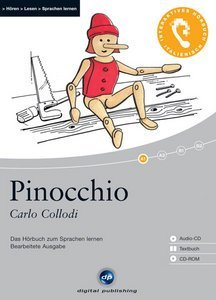 Digital Publishing: Carlo Collodi - Pinocchio - Interaktives Hörbuch (deutsch/italienisch) (PC)