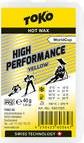 Toko High Performance Hot Gleitwax 40g gelb (5501025)