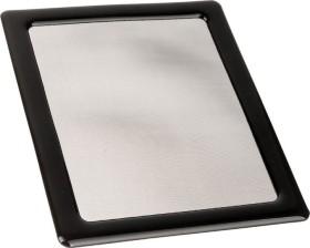 DEMCiflex Staubfilter für Silverstone Sugo SG13B, CPU Side, schwarz/schwarz (DF0618)