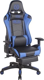 CLP Turbo with synthetic leather cover gaming chair, black/blue (1916692101)