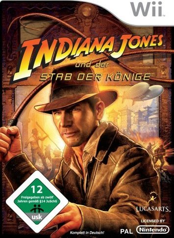 Indiana Jones und der Stab der Könige (deutsch) (Wii) -- via Amazon Partnerprogramm