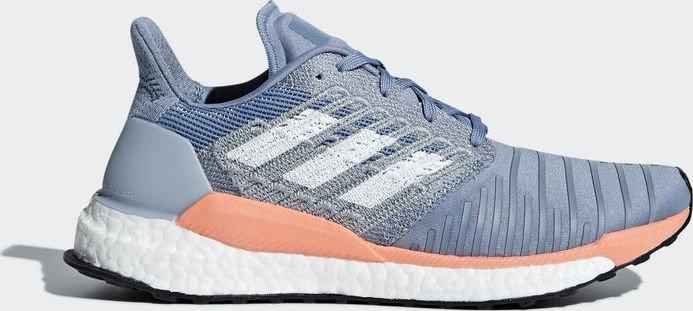quality design 12152 9ad51 adidas solar Boost raw greyftwr whitechalk coral (ladies) (BB6603