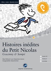 digital Publishing: Goscinny & Sempé - Histoires inédites du Petit Nicolas - interactive audiobook (German/French) (PC)