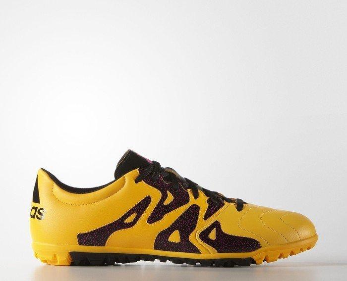 53ca37c62c adidas X15.3 TF solar gold/core black/shock pink (Herren) (S74669 ...