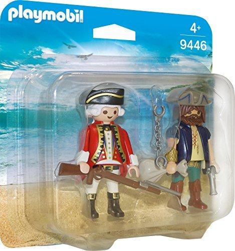 playmobil Pirates - Duo Pack Pirat und Soldat (9446) -- via Amazon Partnerprogramm