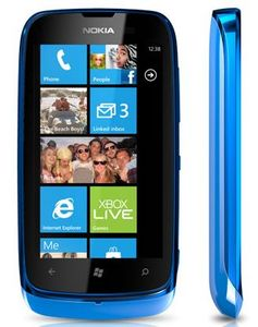 orange Nokia Lumia 610 (various contracts)