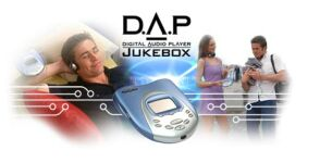 Creative D.A.P. jukebox, 6GB, MP3 player