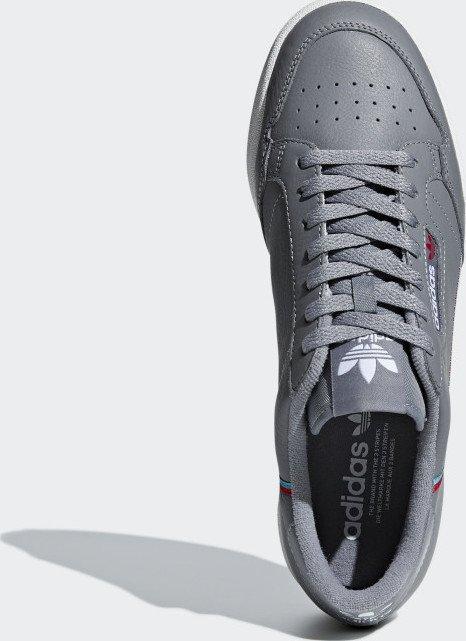 f1ba3b643fc0d3 adidas Continental 80 grey three hi-res aqua scarlet (B41671 ...