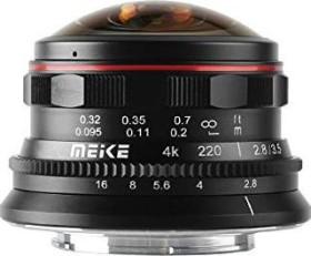 Meike 3.5mm 2.8 fisheye for micro Four Thirds