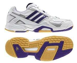 adidas Opticourt Ligra volleyball shoe (ladies) -- © adidas