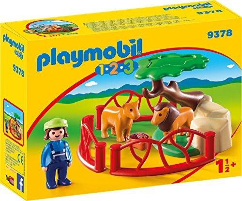 playmobil - 1.2.3 - Löwengehege (9378) -- via Amazon Partnerprogramm