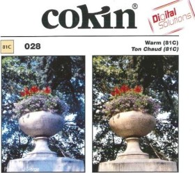 Cokin Filter colour correction soft tone 81C A-Series (WA1T028)