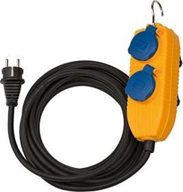 Brennenstuhl Baustellenkabel IP44 mit Powerblock schwarz H07RN-F 3G1.5 5m (1169200)