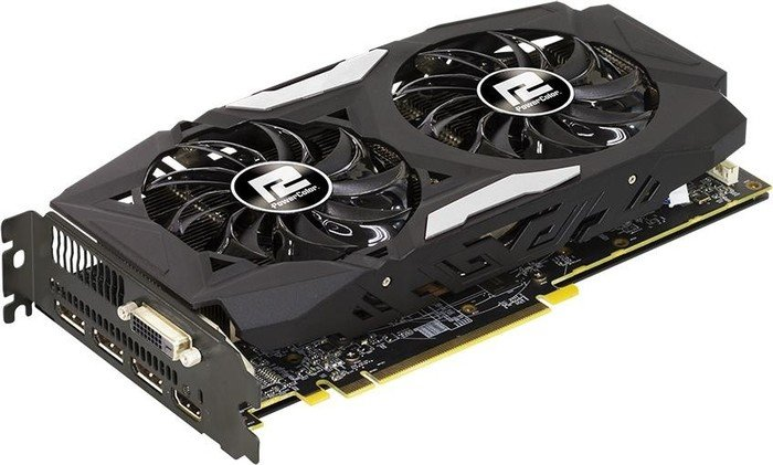 PowerColor Radeon RX 480 Red Dragon, 8GB GDDR5, DVI, HDMI, 3x DisplayPort (AXRX 480 8GBD5-3DHD)