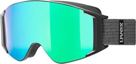 UVEX G.GL 3000 TO black mat/mirror green-lasergold lite-clear (S5513315030)