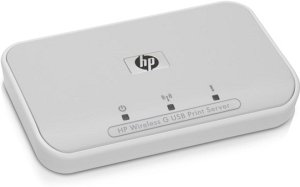 HP wireless G print server 2101nw, 54Mbps, USB (Q6302A)