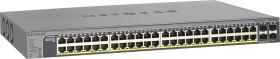Netgear ProSAFE GS700 Rackmount Gigabit Smart switch, 48x RJ-45, 4x SFP, PoE+ (GS752TP-100)
