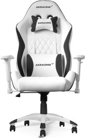 AKRacing California Gamingstuhl, weiß/schwarz (AK-CALIFORNIA-LAGUNA)