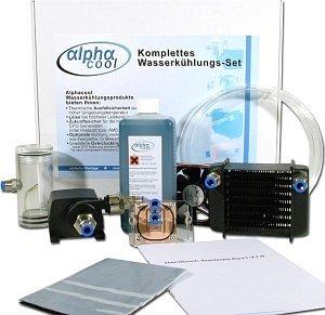 Alphacool Starter Kit 12V Wasserkühlungs-Komplettset (div. Sockel)