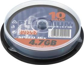 BestMedia Platinum DVD-R 4.7GB 16x, 10er Spindel (100309)