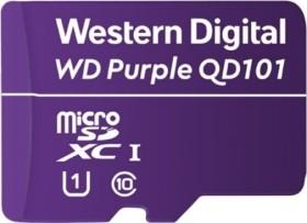 Western Digital WD Purple SC QD101 Ultra Endurance microSDXC 128GB, UHS-I U1, Class 10 (WDD128G1P0C)