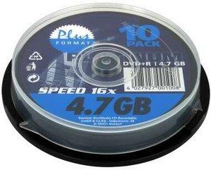 BestMedia Platinum DVD+R 4.7GB 16x, 10er Spindel (100021)