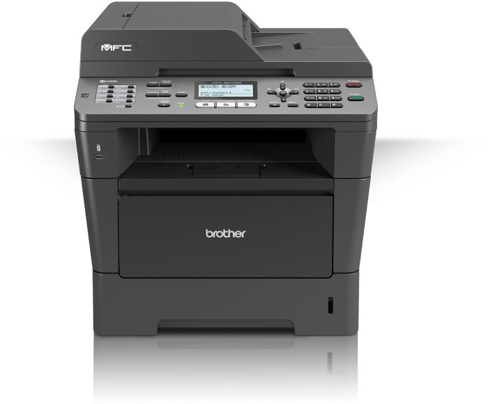 Brother MFC-8510DN 36S/min, B&W-laser (MFC8510DNG1)