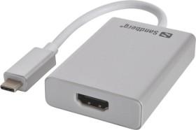 Sandberg USB 3.0 type-C on HDMI adapter (136-12)