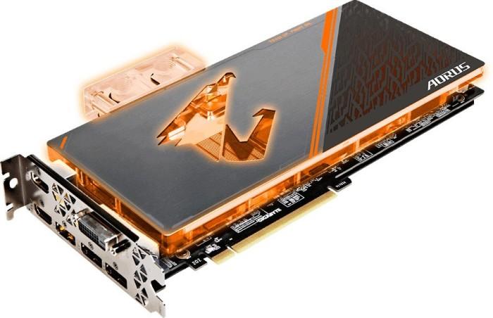 Gigabyte Aorus GeForce GTX 1080 Ti Waterforce WB Xtreme Edition 11G, 11GB GDDR5X, DVI, 2x HDMI, HDMI-Side, 3x DP (GV-N108TAORUSX WB-11GD)