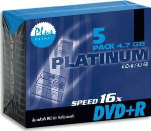 BestMedia Platinum DVD+R 4.7GB 16x, 5-pack Jewelcase (100015)
