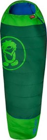 Trollkids Fjell Dreamer mummy sleeping bag dark green/green/medium blue (Junior) (950-308)