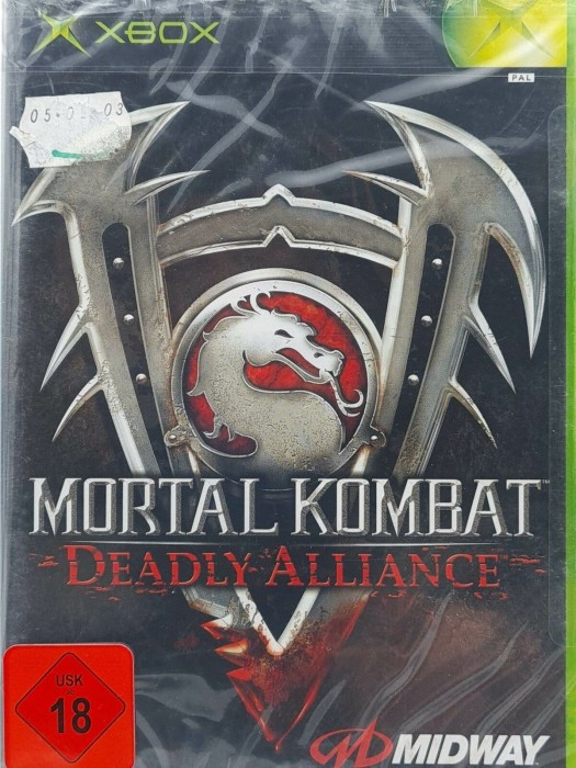Mortal Kombat - Deadly Alliance (deutsch) (Xbox) -- via Amazon Partnerprogramm