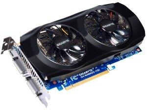 Gigabyte GeForce GTX 460 OC Rev. 3.0, 1GB GDDR5, 2x DVI, mini HDMI (GV-N460OC-1GI)