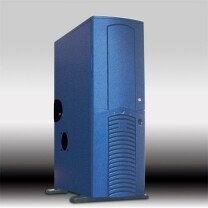 Chieftec Dragon DA-01BLD, Big Tower, blue, noise-insulated [without power supply] -- © CWsoft