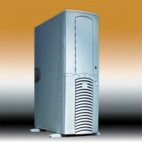Chieftec Dragon DA-01SLD, Big Tower, silver, noise-insulated [without power supply] -- © CWsoft