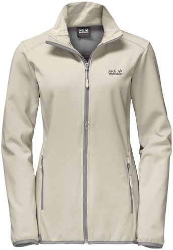 Jack Wolfskin element Altis Jacket white sand (ladies) (1304112-5017)