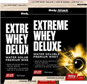 Body Attack Extreme Whey Deluxe Protein Cookies n Cream 1.8kg (2x 900g)