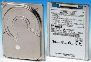 Toshiba MK1011GAH 100GB, LIF, IDE