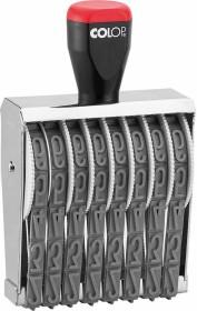 COLOP 18008 Ziffernstempel, 8 Ziffern, 87x18mm