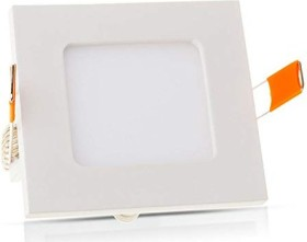 V-Tac LED panel square 18W cool white LED-built-in light (VT-4870)