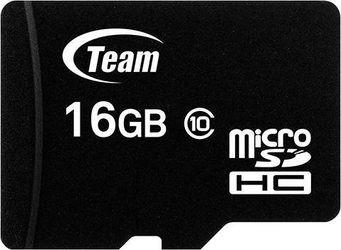 TeamGroup R20/W14 microSDHC 16GB Kit, UHS-I, Class 10 (TUSDH16GCL1003)