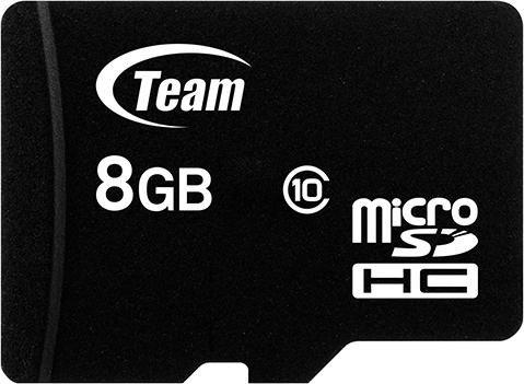TeamGroup R20/W14 microSDHC 8GB Kit, UHS-I, Class 10 (TUSDH8GCL1003)