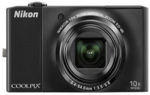 Nikon Coolpix S8000 black (VMA511E1)