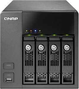 Qnap Turbo station TS-410, 2x Gb LAN